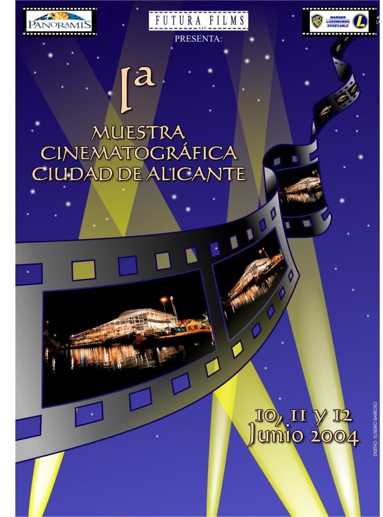 2004 cartel FESTIVAL CINE ALICANTE