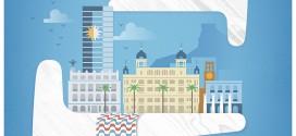 La fachada litoral de la ciudad protagoniza el cartel anunciador del 12º Festival de Cine de Alicante