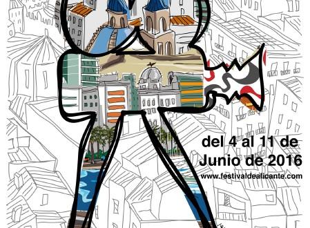 La presentación del cartel anunciador marca el arranque del 13º Festival de Cine de Alicante