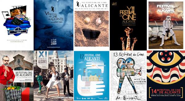 El Festival de Cine de Alicante convocó un concurso para seleccionar el cartel anunciador de su 15ª edición