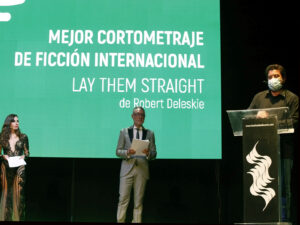 LAY THEM STRAIGHT MEJOR CORTO INTERNACIONAL FESTIVAL CINE ALICANTE