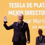 OSCAR MARTIN MEJOR DIRECTOR AMIGO FESTIVAL CINE ALICANTE